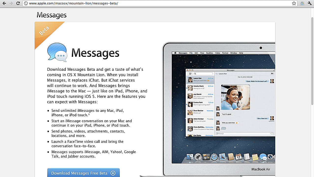 How to Download Messages for Mac - Replace iChat