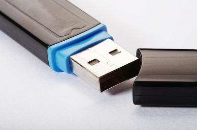 Close up of usb flash drive, close-up