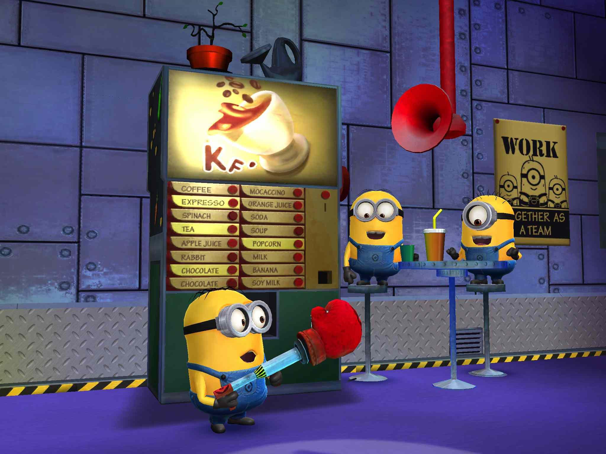 Despicable Me: Minions Rush on iPad