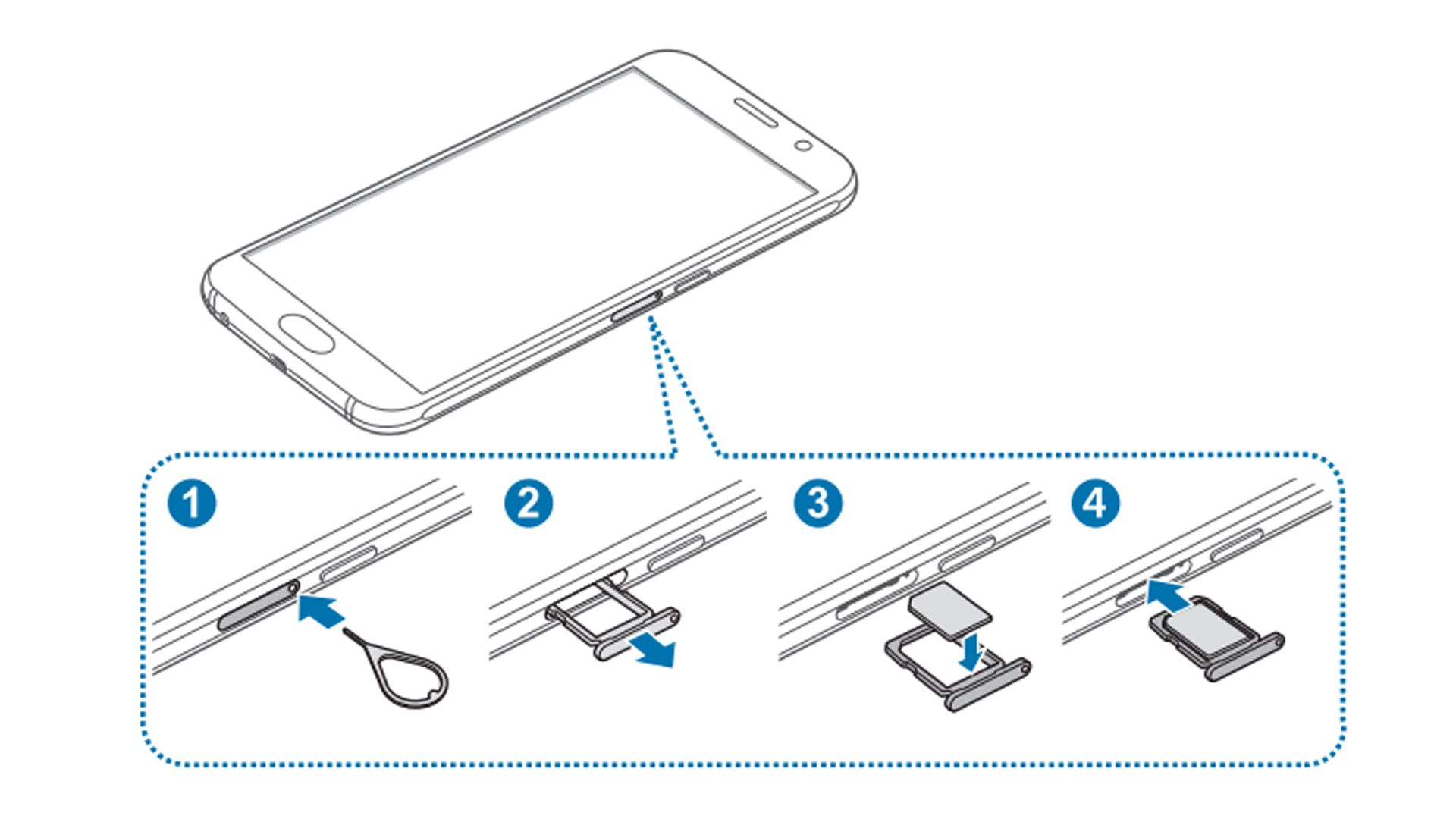 Swap SIM Cards on Your Galaxy S6 or S6 Edge