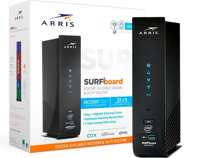 Arris Surfboard SBG7600AC2