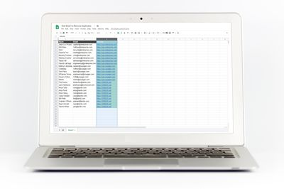 Find Duplicates in Google Sheets