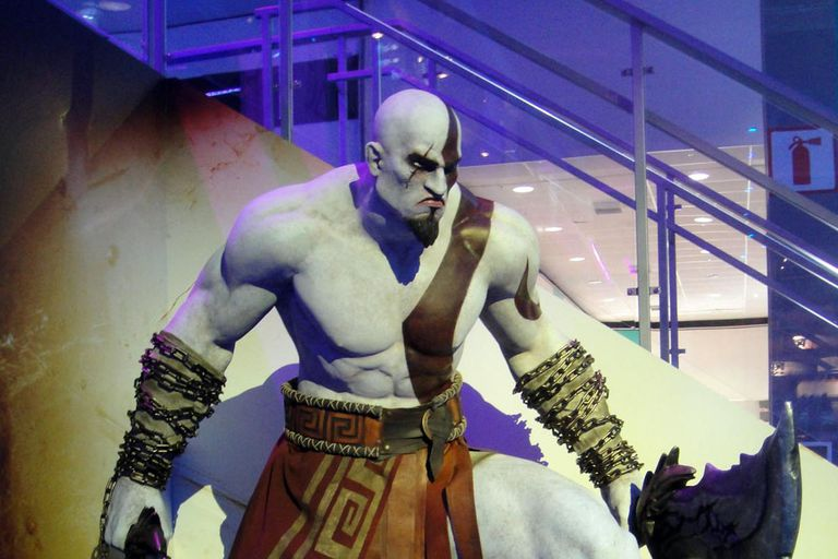 Is Kratos the Greek God of War?