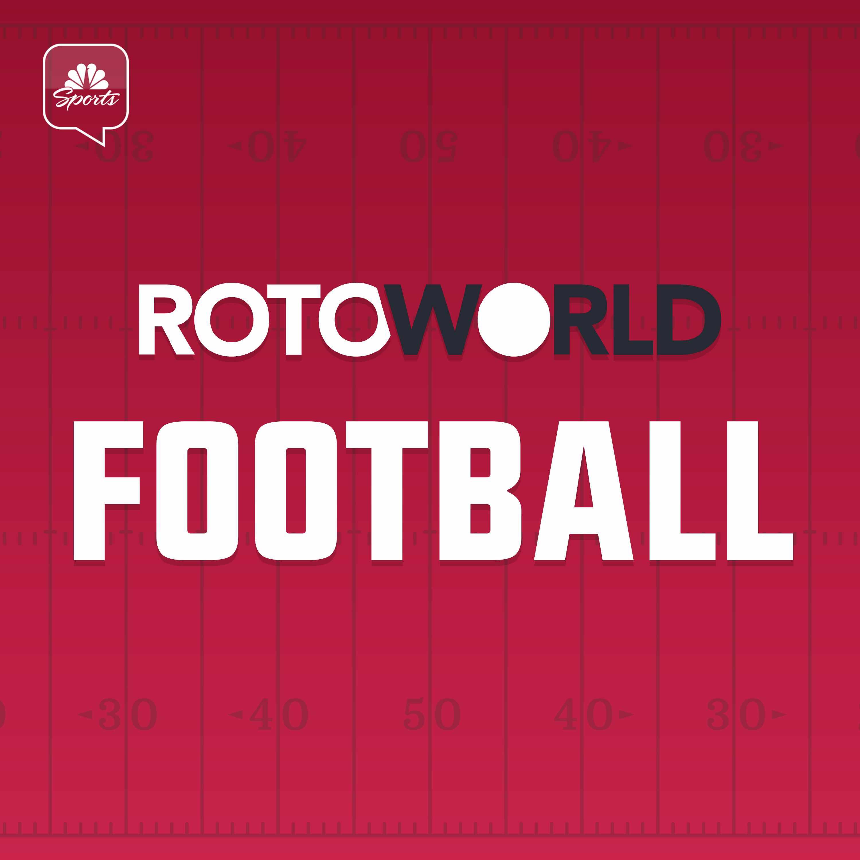 The RotoWorld Football podcast logo