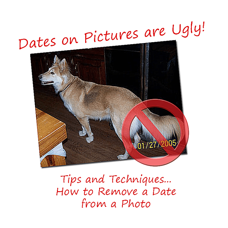 Dates on Pictures are Ugly!
