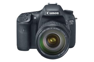 Front view of Canon EOS 7D