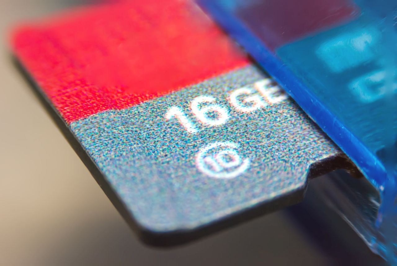 Image of a micro-sd card