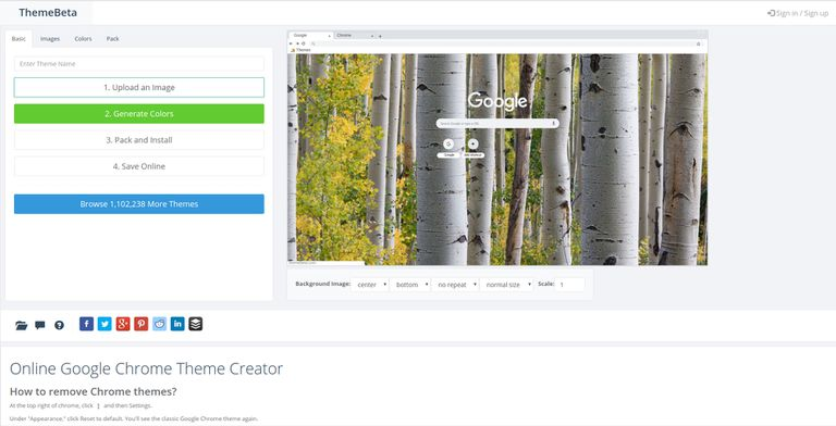 How to Create Google Chrome Themes