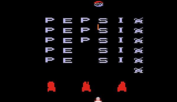 Pepsi Invaders screenshot