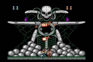 Screenshot of Super C on the Wii