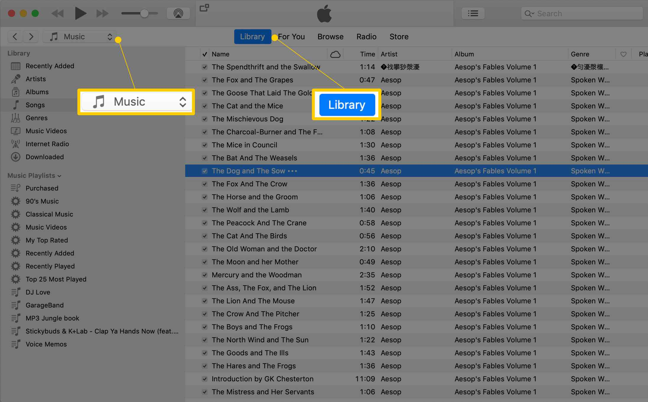 How to Create Audiobooks From MP3s in iTunes