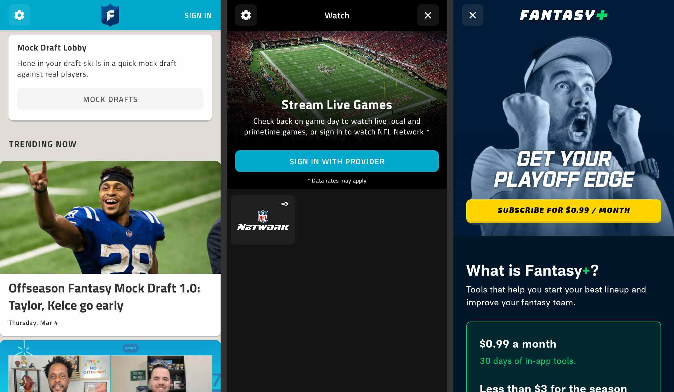 ESPN Fantasy Sports app for Android
