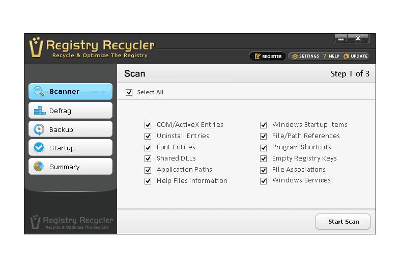 Registry Recycler v0.9.2.7