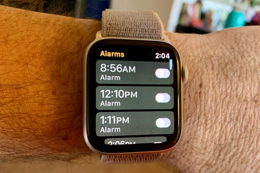 Alarms on Apple Watch
