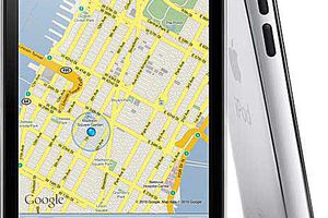iPod Touch GPS