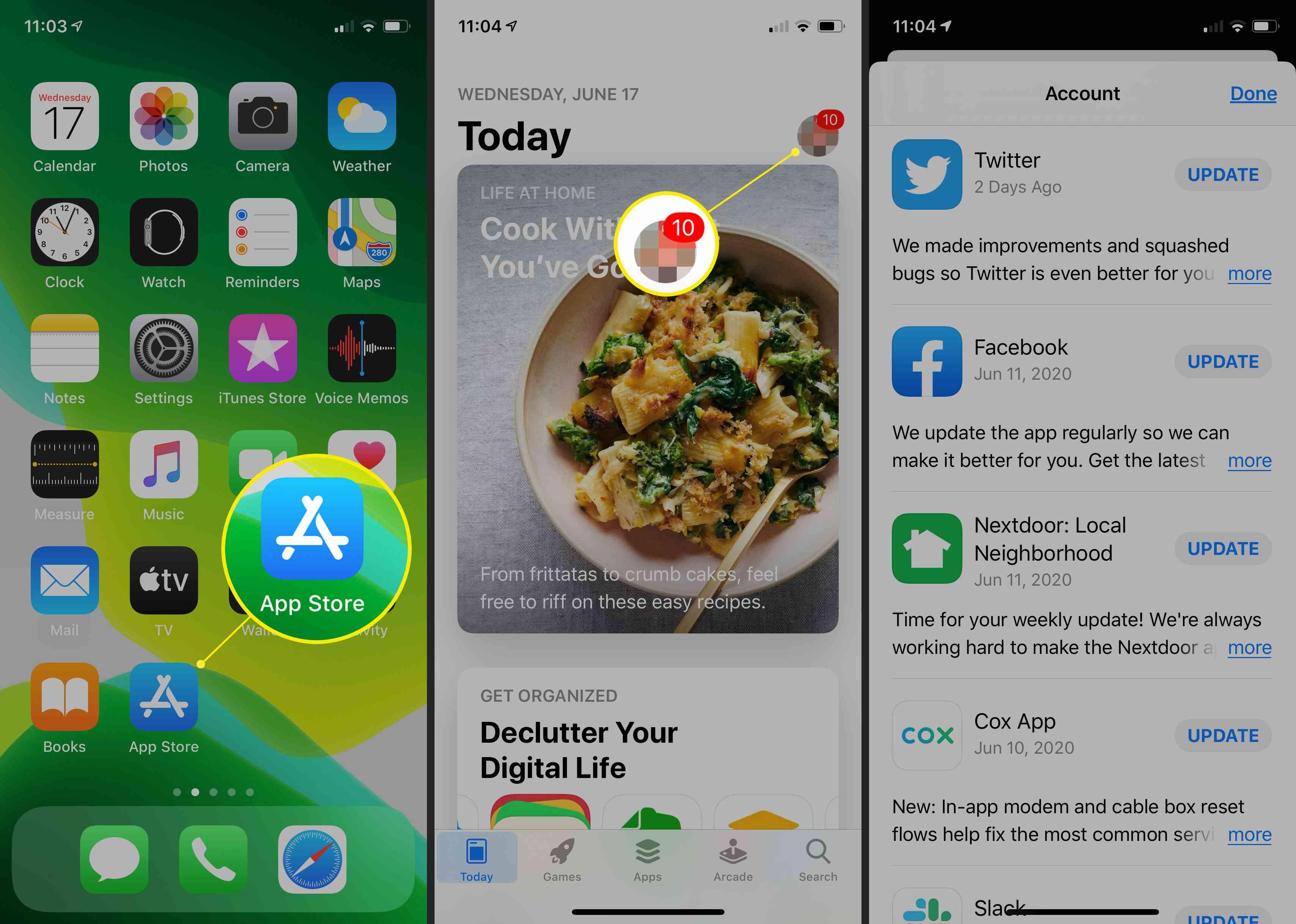 iPhone App Store Updates