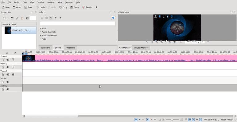 Kdenlive Video Editor