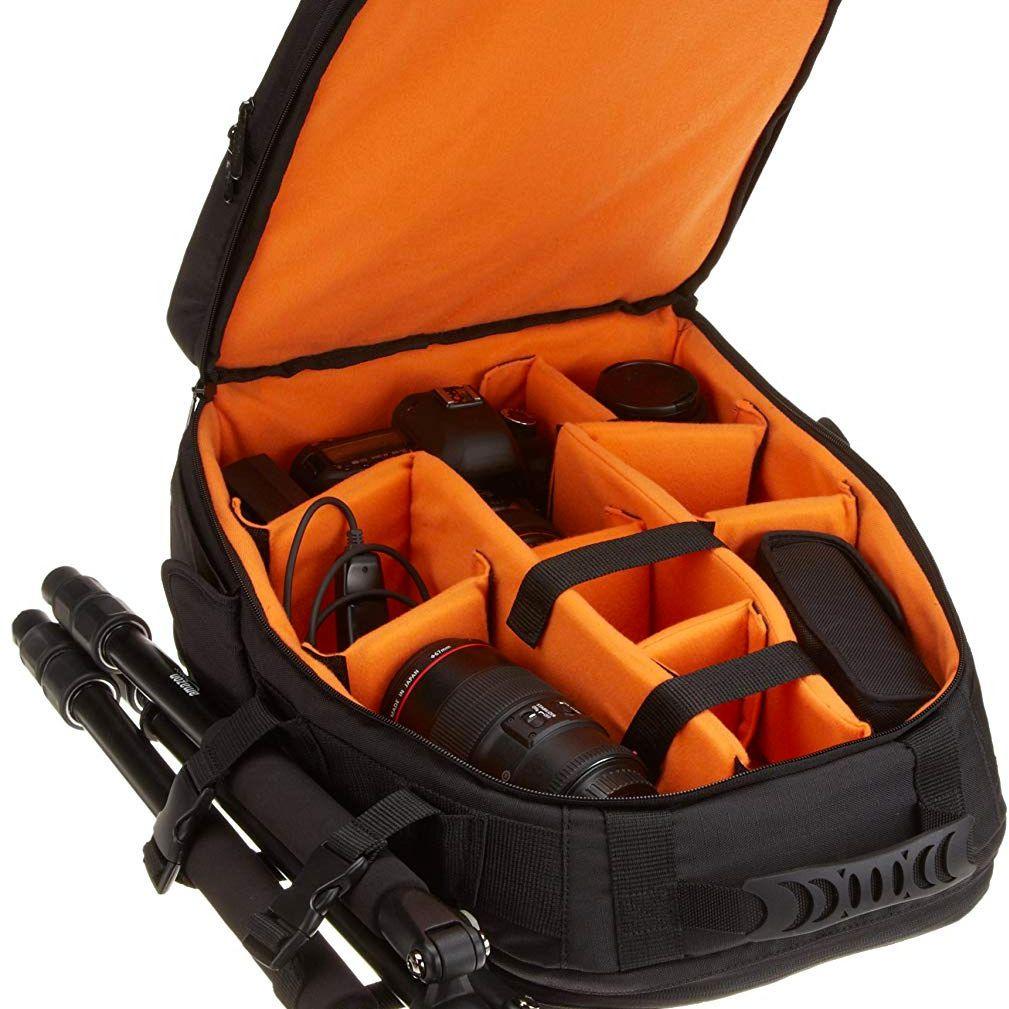 Backpack-style camera bag