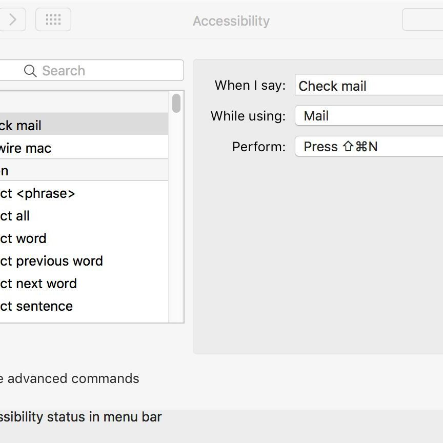 Control Your Mac With Voice Commands