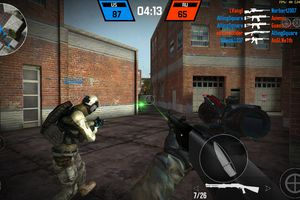 A screenshot from Bullet Force