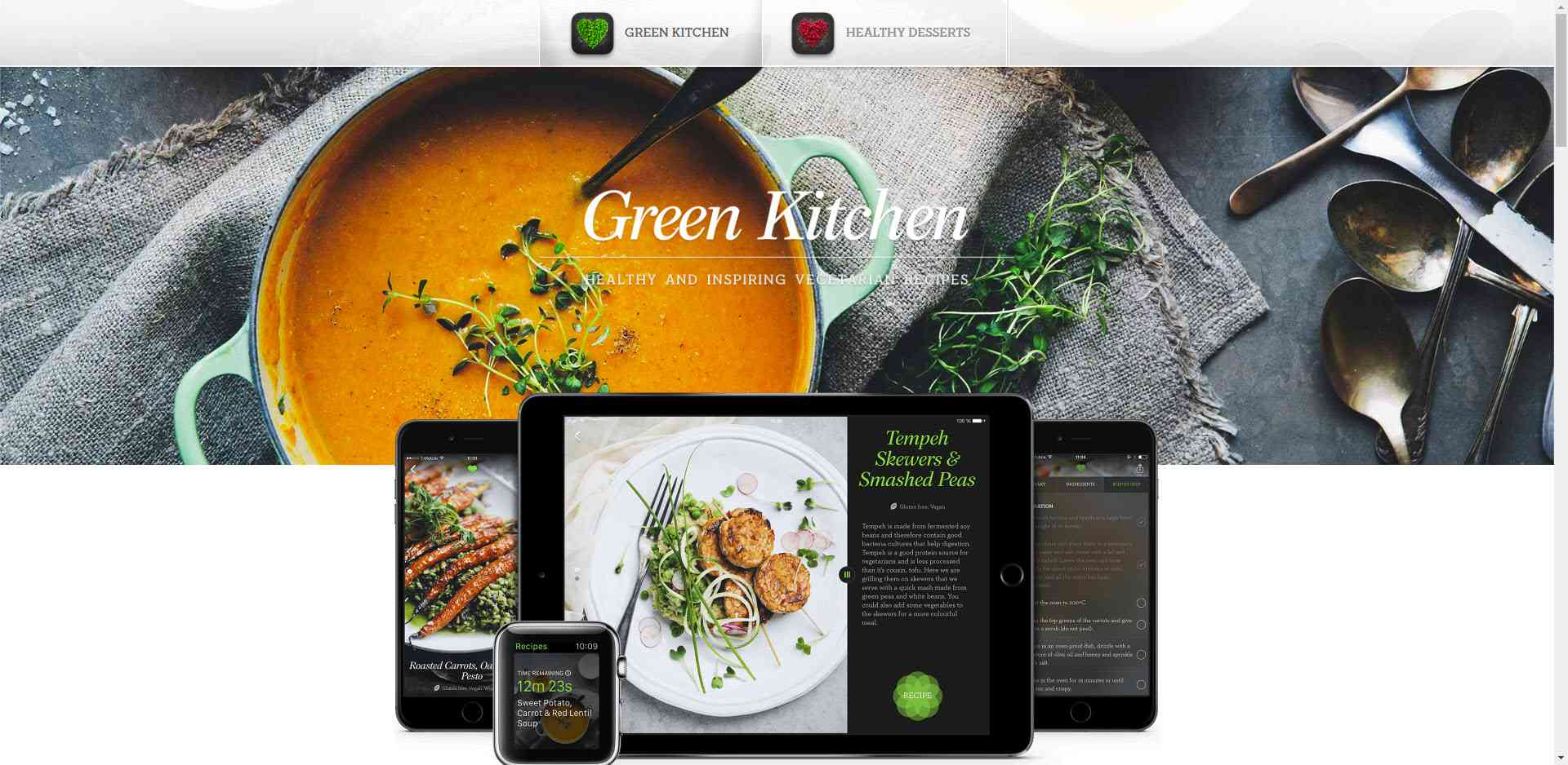 the best vegan and vegetarian recipe apps for iphone