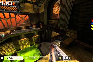 Gameplay footage from Quake Live