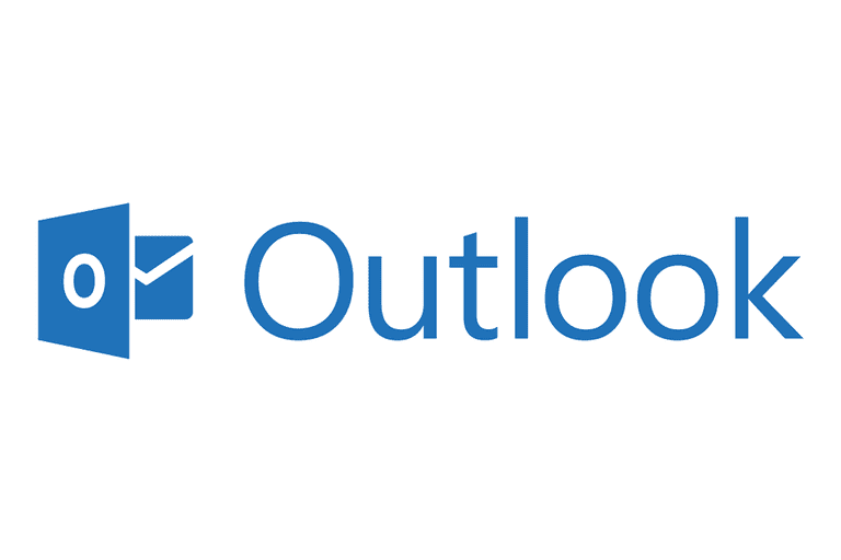 Screenshot of the Outlook logo
