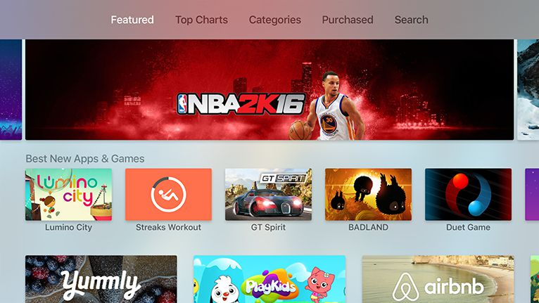 How to Use the Apple TV App Store