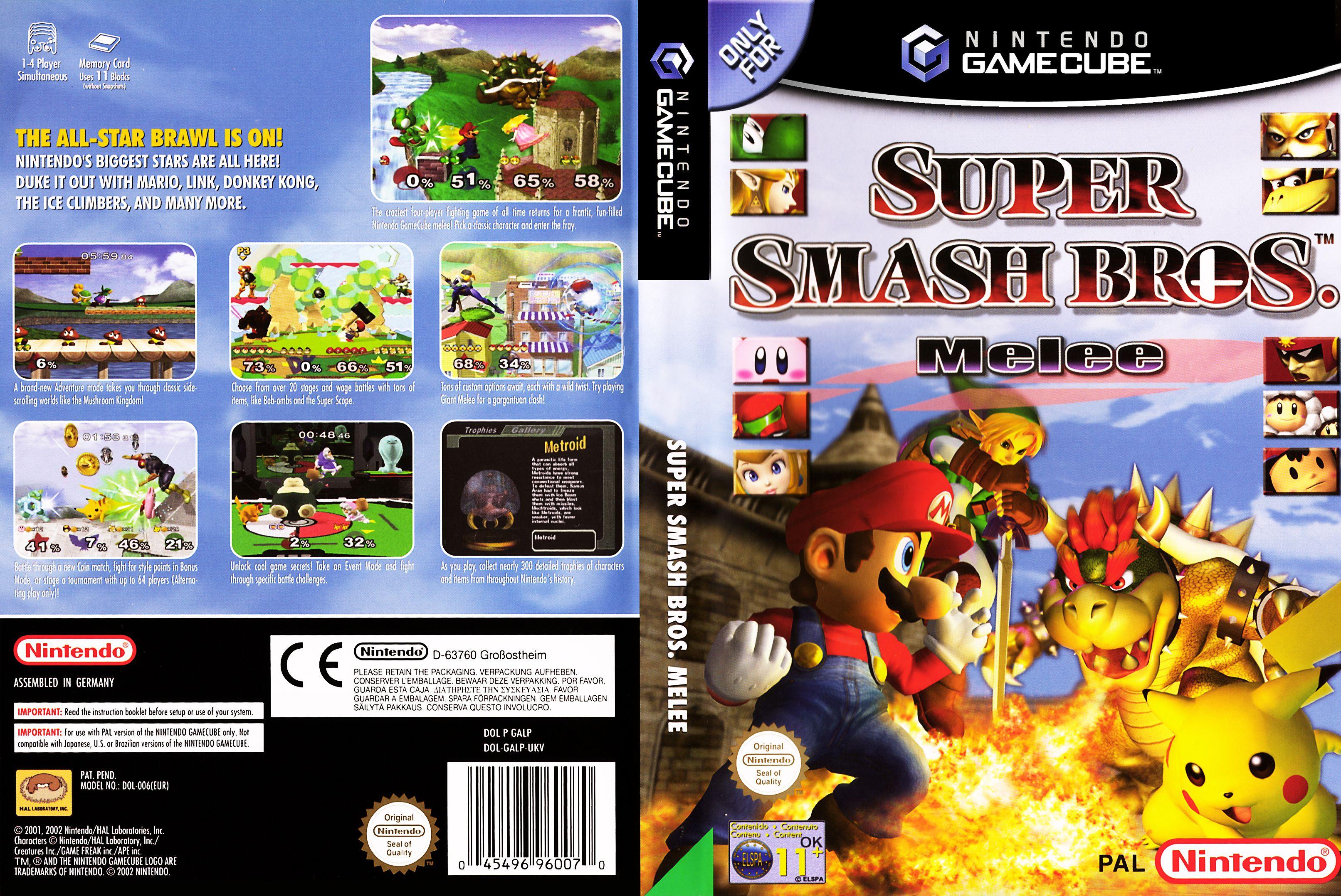 Super Smash Bros Melee Cheats For Gamecube