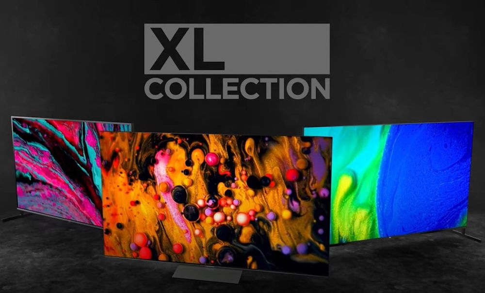 Promo image of TCL's XL Collection of TVs