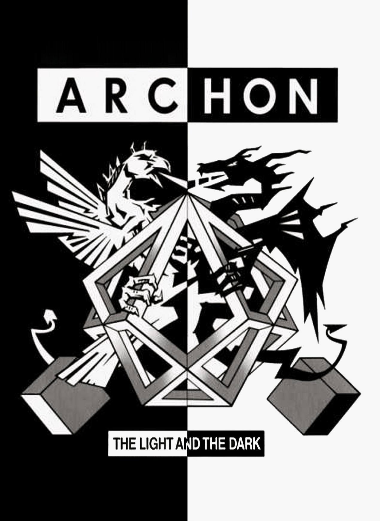 Archon PC game logo art