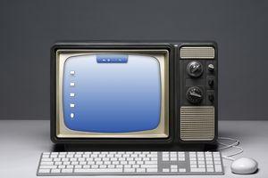 TV computer screen