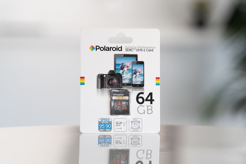 Polaroid 64GB SDXC Card