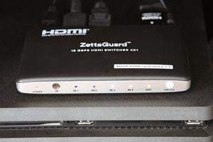 Zettaguard Upgraded 4K 60Hz 4x1 HDMI Switcher