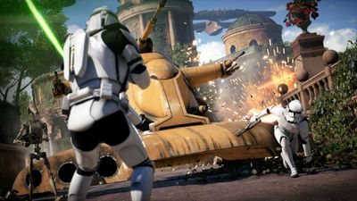 Screenshot from Star Wars Battlefront II