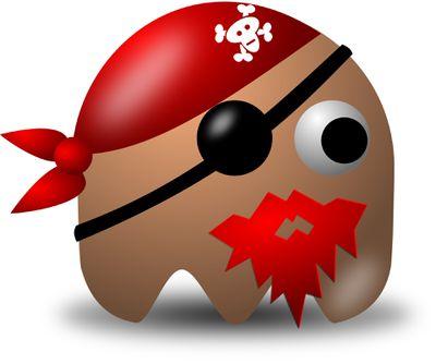 Pirate themed clip art