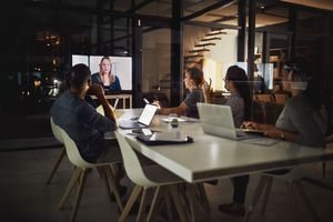 Technology has made it possible to have our meetings anywhere