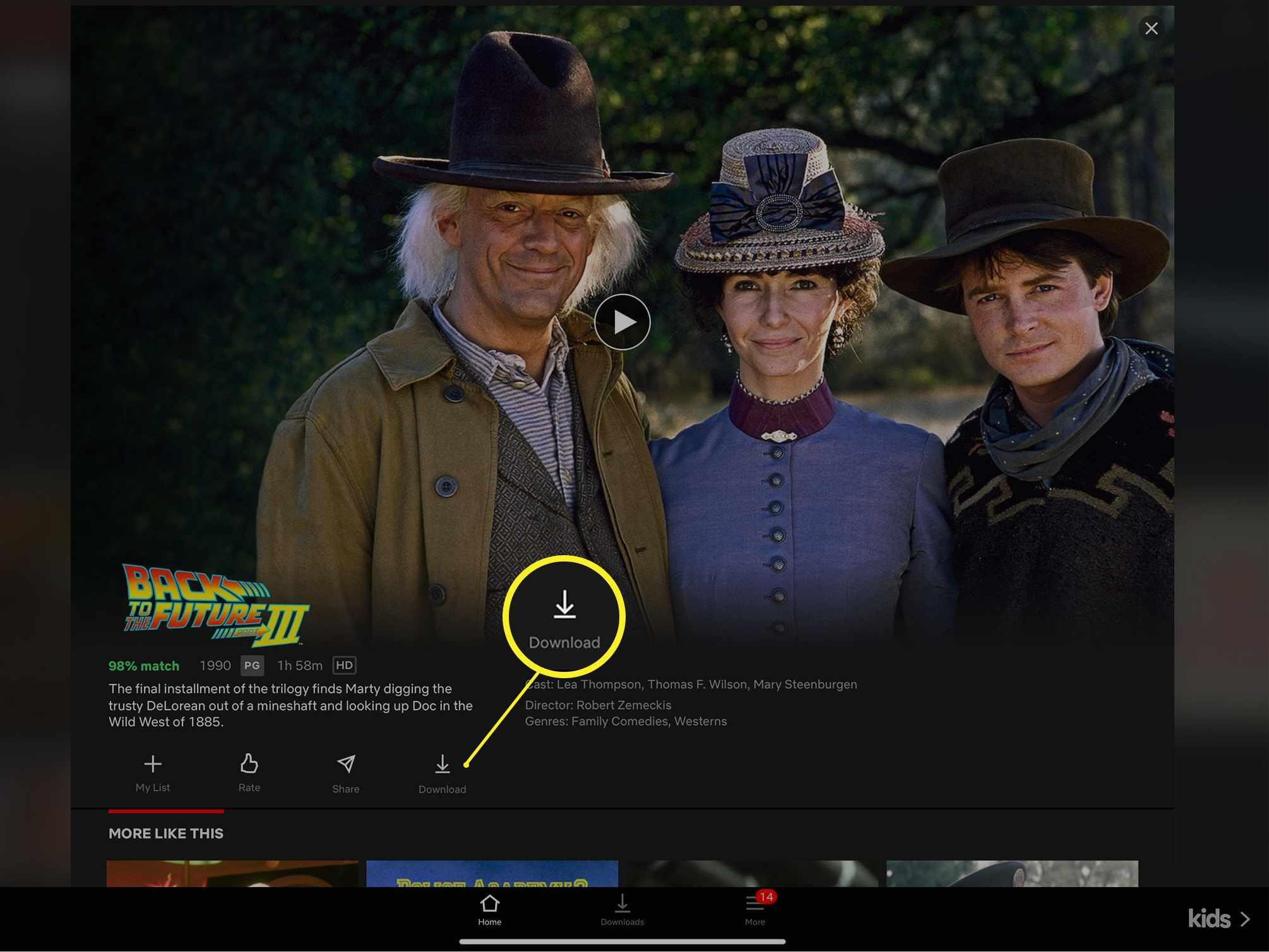Netflix download link