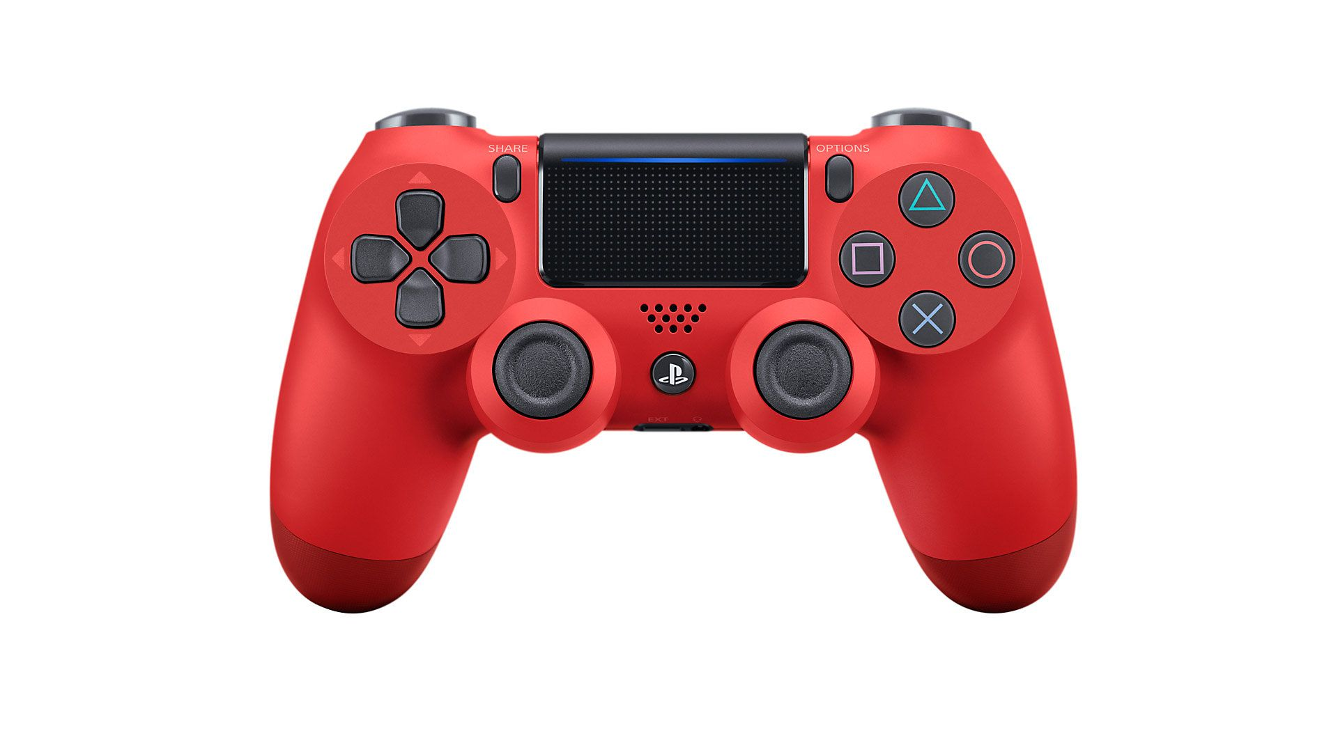 Red DualShock 4 controller for PS4