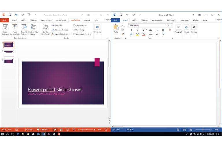 Use Multiple, Arranged, or Split Windows in Microsoft Office