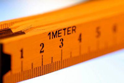 A meter stick