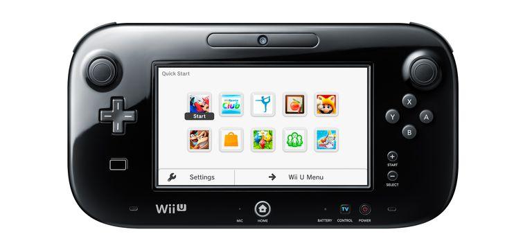 Wii U Gamepad Quick Start Menu