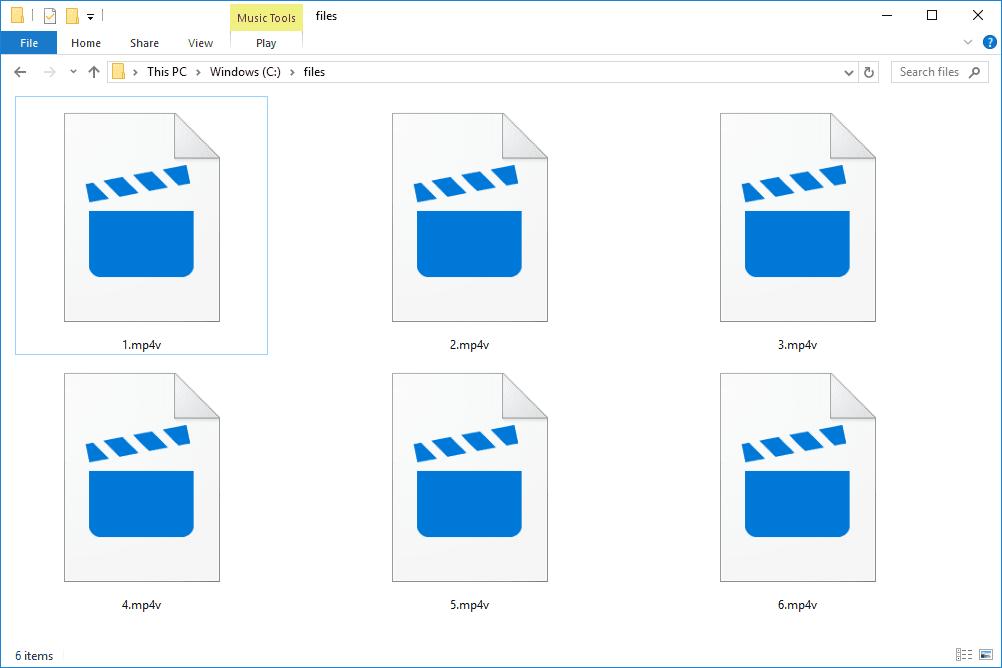 MP4V files in Windows 10