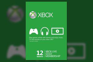 Xbox Live Gold Membership graphic