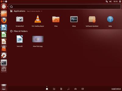 Screenshot of Ubuntu Linux desktop