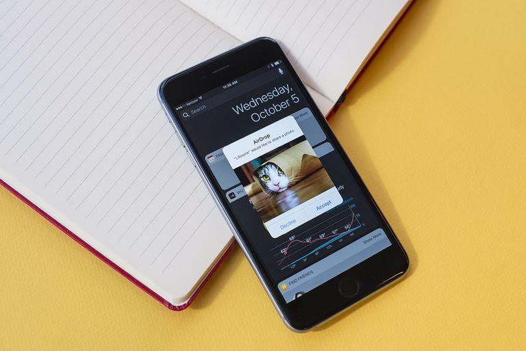 Airdop on iPhone