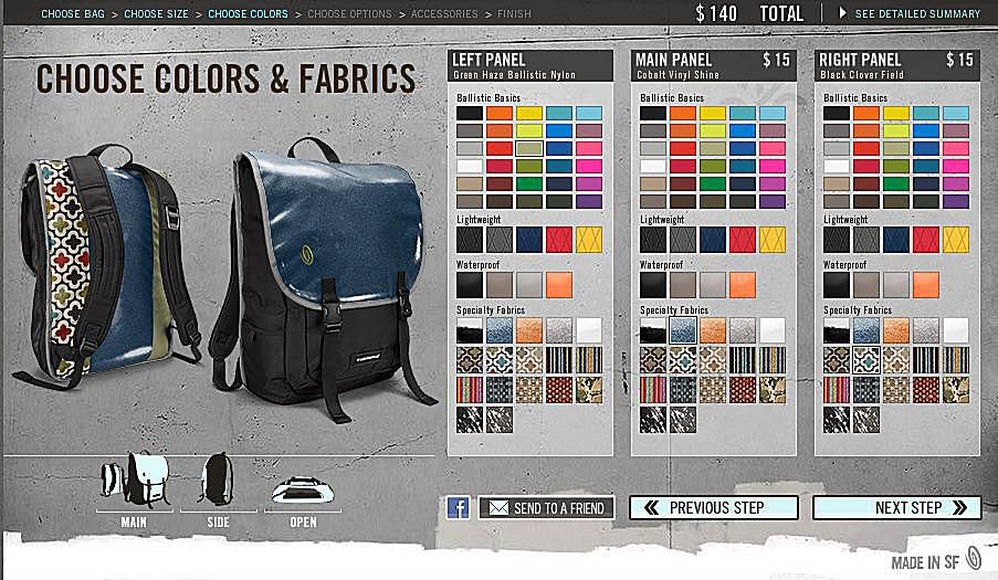 bc69a53aaff71 Timbuk2 Swig - Build Your Own Laptop Sleeve Backpack