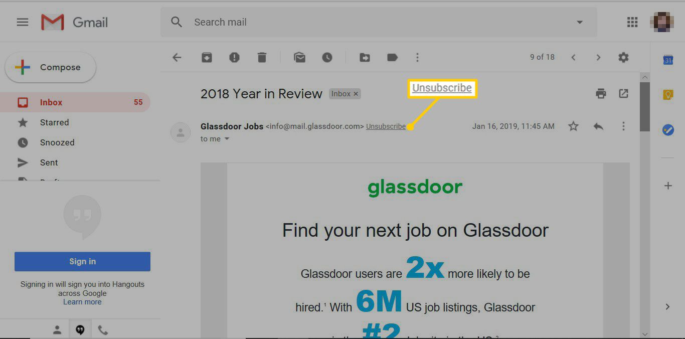 How to Unsubscribe From Emails