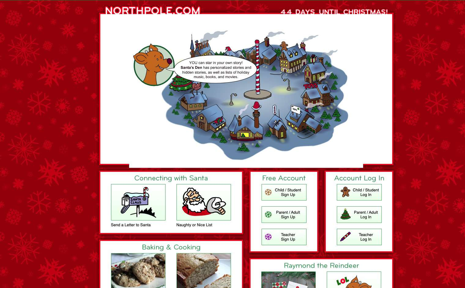 NorthPole.com Santa website