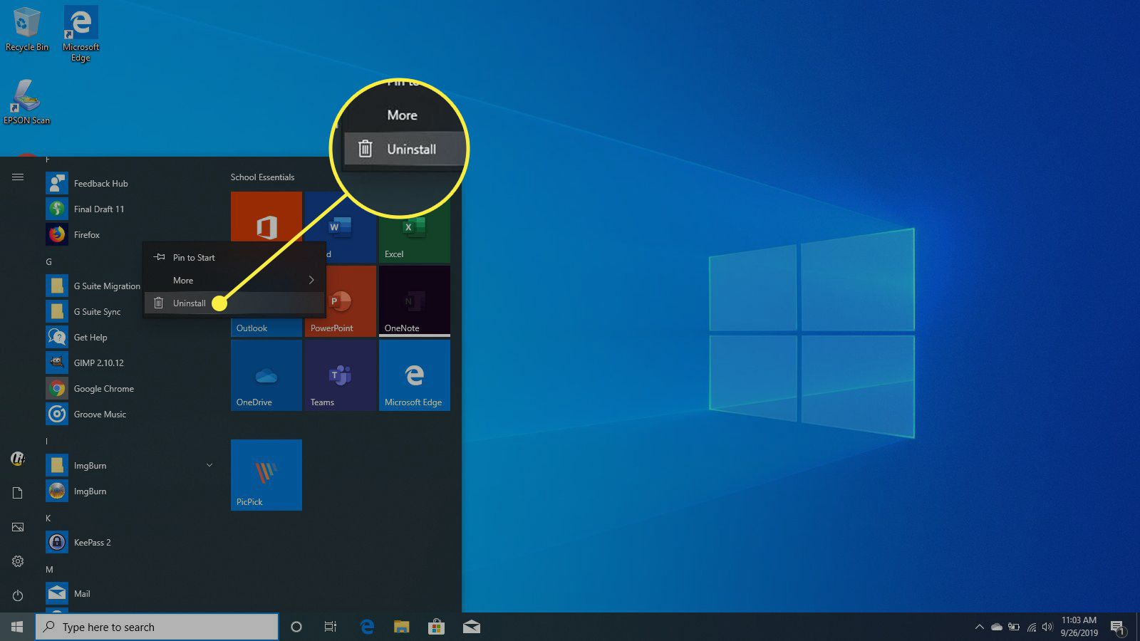 How to Uninstall Apps From Windows 7, 8, and 10